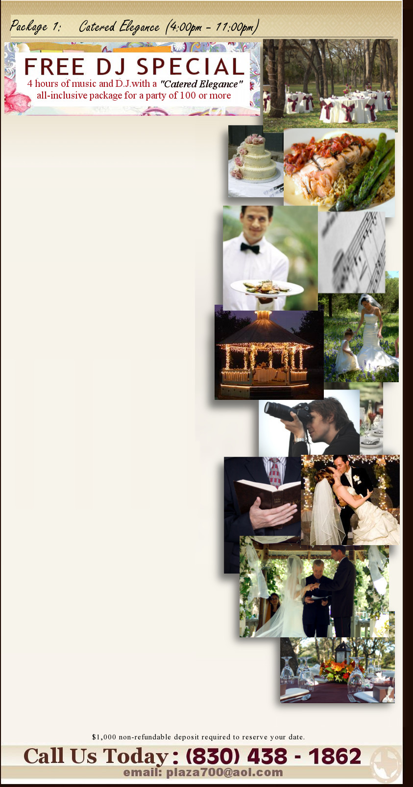 Hill Country Wedding Venue ***$500 Wedding Ceremony Special*** Texas ...